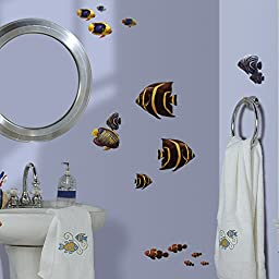 RoomMates RMK1005SCS Under the Sea Peel and Stick Wall Decals