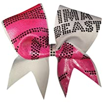 Ima Beast- Zebra Cheer Bow