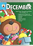 img - for December: Full-Color Monthly Activities for Grades 1-3 book / textbook / text book