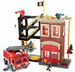 Fisher-Price Imaginext Firestation &...