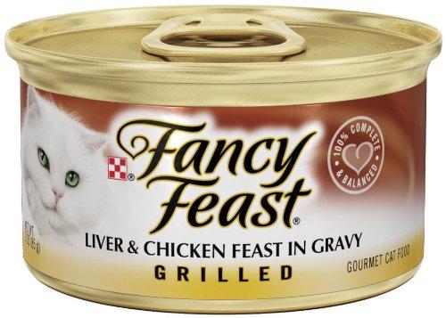 Fancy Feast Grilled Liver & Chicken Feast In Gravy