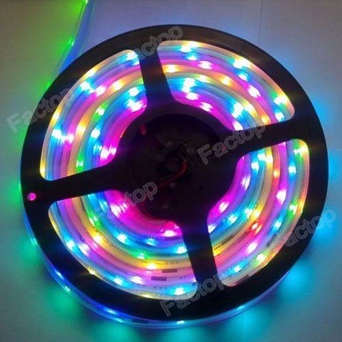 Factop Light Strip Waterproof 5M IC6803 5050 Dream Magic RGB LED Strip 133 Color Change (Dream Color Led compare prices)
