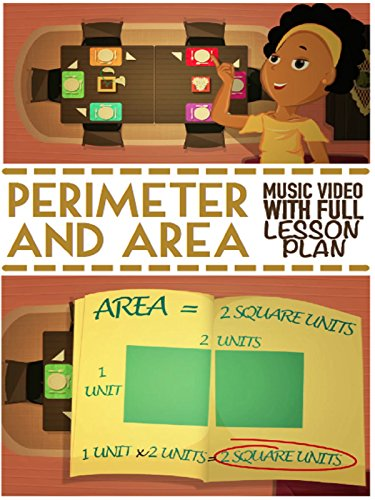 Perimeter & Area Song │Educational Math Video For Kids