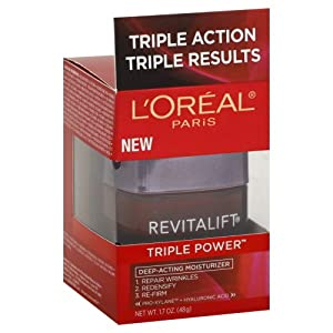 欧莱雅复颜三重深层保湿霜$17.55L'Oreal Paris RevitaLift Triple Power DeepActin