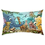 Jungle Animals Small Pillow Kids Pillow Small Pillow By BS