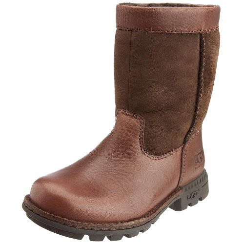 UGG Australia Children's Birch Boot II Casual Shoes,Black Pudding/Chocolate,1 Child US