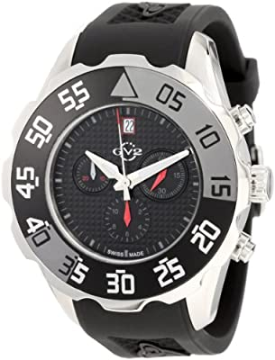 "GV2 by Gevril Men's 3004R ""Parachute"" Stainless Steel Sport Watch"