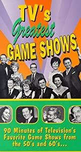 TV's Greatest Game Shows [VHS]