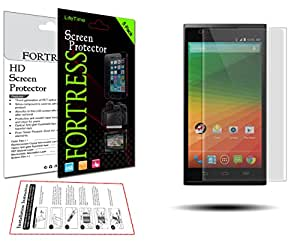 (5 Pack) ZTE ZMAX Z970 MAX 970 Crystal Clear LCD Screen Protector Kit Exact Fit, No Cutting Needed. LifeTime Replacement Warranty (Fortress Brand)