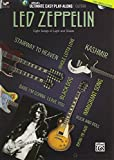 Ultimate Easy Guitar Play-Along - Led Zeppelin: Eight Songs of Light and Shade (Easy Guitar TAB), Book and DVD