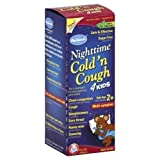 Hyland's Homeopathic Hylands Nighttime Cold 'N Cough For Kids - 4 Oz, Pack Of 2