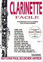 Partition : Clarinette facile vol 1