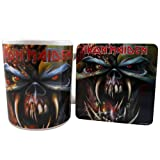Iron Maiden Mug And Coaster Set, The Final Frontier