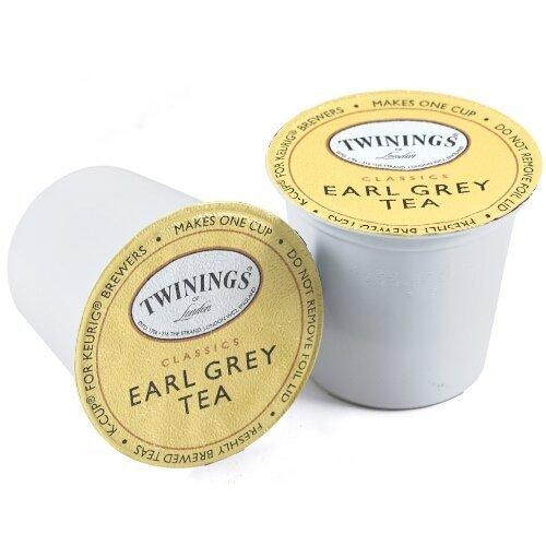 Twinings Earl Grey Tea Keurig K-Cups, 48 Count (Earl Tea Keurig compare prices)
