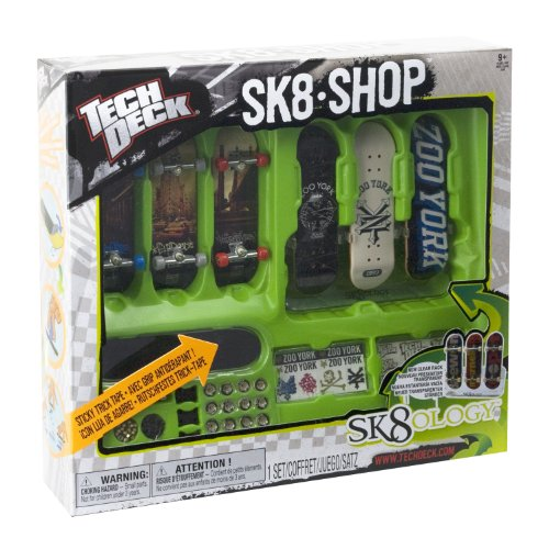 Tech Deck Skate Shop Bonus Pack (Los estilos pueden variar)