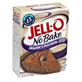 Jell-O No-Bake Double Chocolate Flavored Dessert, 9.2-Ounce Boxes (Pack of 12)