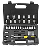 Stanley 92-810 MicroTough Ratchet and Laser Etched Socket Set, 50-Piece