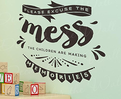 please-excuse-the-mess-children-making-memories-girls-or-boys-room-kids-baby-nursery-family-children