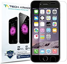 Tech Armor HD Clear Screen Protector for Apple iPhone 6 (Pack of 3)
