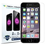 iPhone 6 Screen Protector, Tech Armor Apple iPhone 6 (4.7 inch ONLY) High Defintion (HD) Clear Screen Protectors - Maximum Clarity and Touchscreen Accuracy [3-Pack] Lifetime Warranty