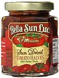 Bella Sun Luci, Sun Dried Tomato Halves with Italian Herbs, 6.5 Ounce Jar
