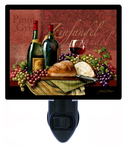 Kitchen And Bar Night Light - Zinfandel - Wine