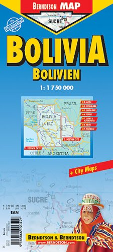 Bolivia Laminated Map (B&B)