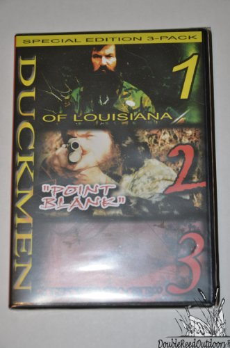 For Sale! Duck Commander Duckmen 1, 2, 3 DVD Combo