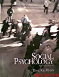 Social Psychology (0070442924) by David G. Myers