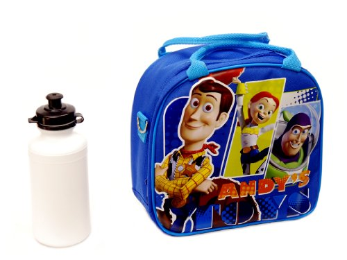 Toy Story Andy's Toy Blue Lunch Bag with Bottle - 1