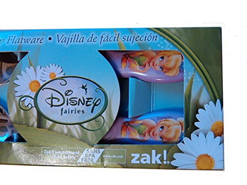 Disney Fairies Tinkerbell Flatware Set Spoon & Fork - 1