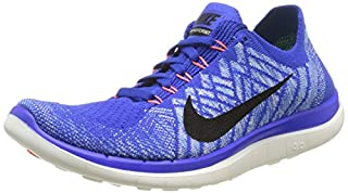 Nike Free 4.0 Flyknit Women's Running Shoes Black & White