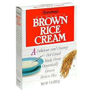 Erewhon Brown Rice Cream Hot Cereal, Organic, 16-Ounce Boxes (Pack of 6)
