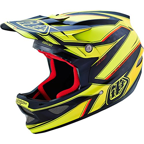 Troy-Lee-Designs-Composite-Berzerk-D3-Adult-Bike-Sports-BMX-Helmet-Army-Green