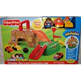 Little People® WheeliesTM Play n Go Construction Site