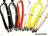 サスペンダー キッズ ★CONVERSE(コンバース) 子供用サスペンダー 全6色 cv802