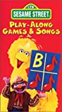 Sesame Street - Play-Along Games and Songs [VHS]