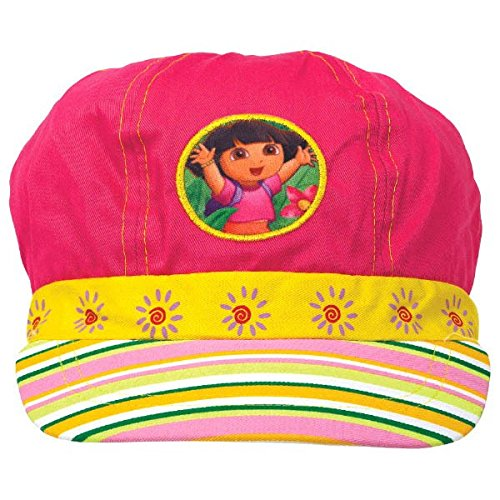 Amscan Colorful Dora The Explorer Deluxe Fabric Hat Costume (1 Piece), Pink/Yellow, 5 1/2 x 10""