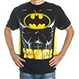 51JFQFPhpLL. SL160  Batman Mens Black Cape T Shirt S