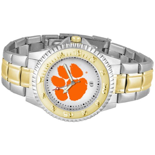 Clemson Tigers Competitor Two Tone Watch ncaa clemson tigers garden flag