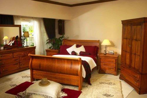 Bedroom Furniture - Savannah Bedroom Furniture Set 1 - SCS-BDRM-SET-1