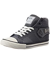 British Knights Women's Roco Grey And Black Sneakers