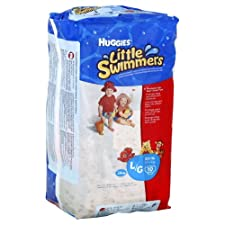 Huggies Little Swimmers Disposable Swimpants, Large (32+ lb), Disney, 10 ct.