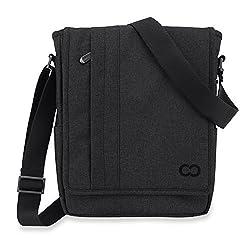 CaseCrown Campus North Messenger Bag (Black Stealth) for Microsoft Surface Pro 3