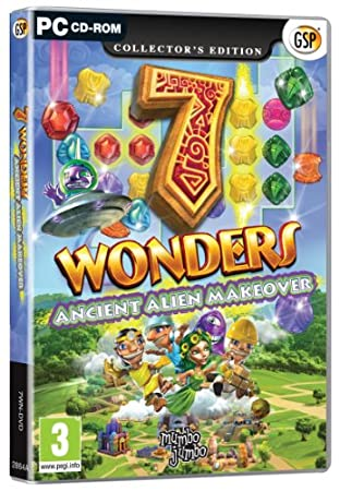 7 Wonders: Ancient Alien Makeover (PC DVD)