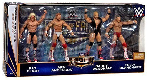 The Four Horsemen Hall of Fame WWE Elite 4 pack figures Ric Flair Arn Anderson Barry Windham Tully Blanchard by MATTEL by Mattel [parallel import goods]