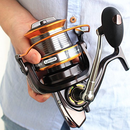Zoostliss-13BB-New-9000-All-Metal-Line-Cup-Big-Long-Shot-Round-Fishing-Reel-Fishing-Boats-Sea-Anchor-Rod-Reels