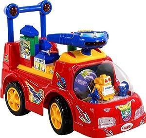 Correpasillos y andados para bebes - Portador con funcion empuja -Tire del juguete - Coche para bebe - Coches para ninos - Baby car ARTI 3216 Ufo Car Red Ride-On por ARTI - BebeHogar.com