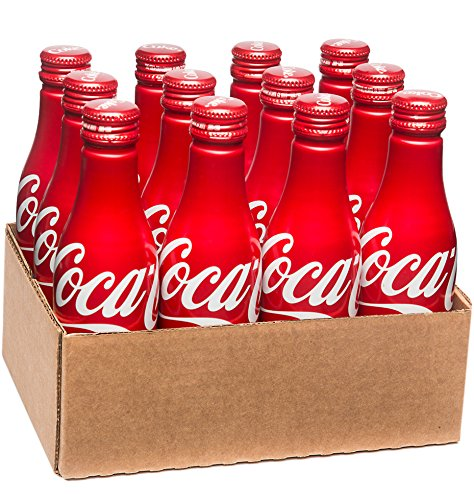 Coca-Cola Aluminum Bottle, 8.5 Ounce (Pack of 12) (Soda Aluminum Bottle compare prices)