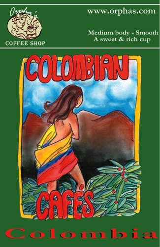 Colombia -Swiss Water® Process Decaffeinated, Rainforest Alliance Certified, 12oz - Whole Bean